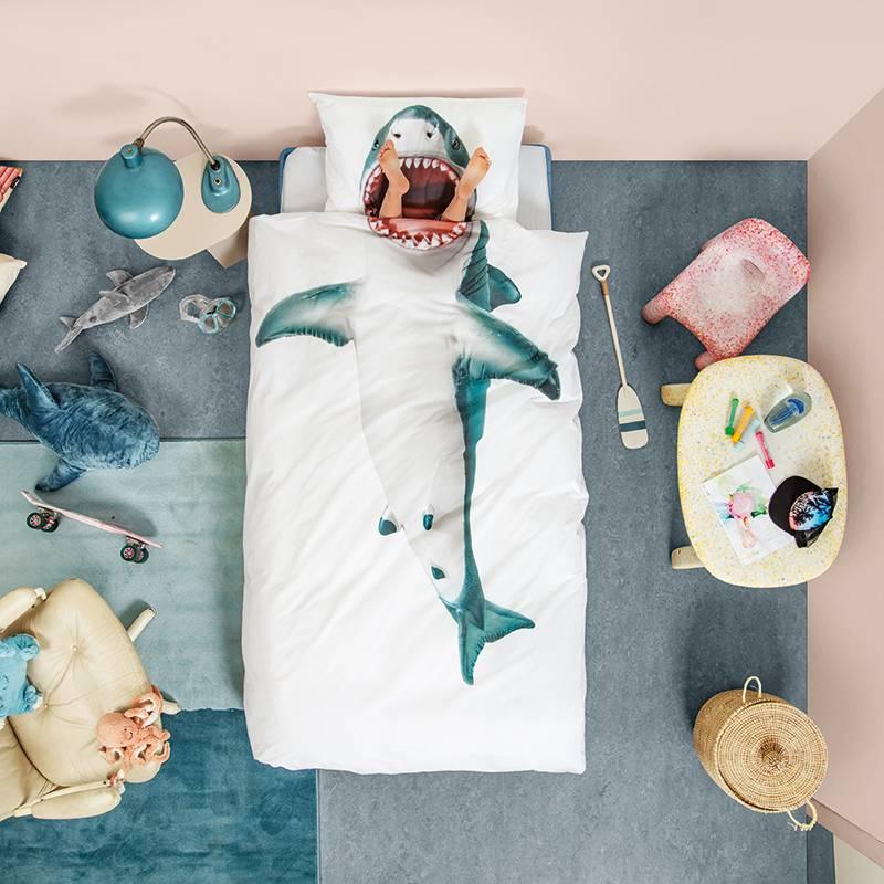 SNURK beddengoed Requin - Shark Housse de couette