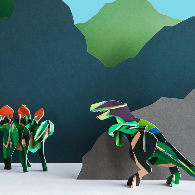 Studio Roof 3D puzzel Totem T-Rex