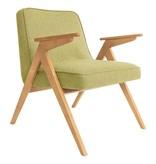 366 Concept 366 Bunny armchair Tweed - Sur les photos vous voyez le chêne naturel!