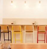 Declercq Mobilier ML 68 chaise de bar chêne