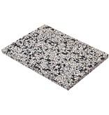 OK Design Confetti zwart terrazzo plank