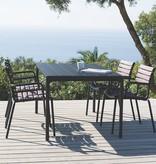 Houe Four table de jardin 90 x 90 cm