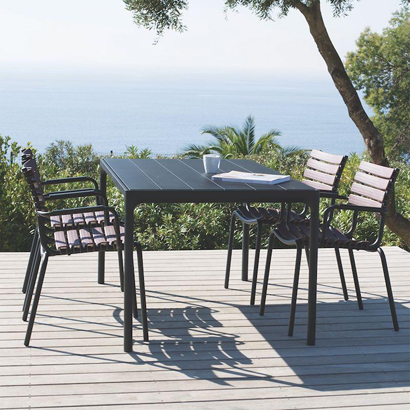 Houe Four table de jardin 210 x 90cm