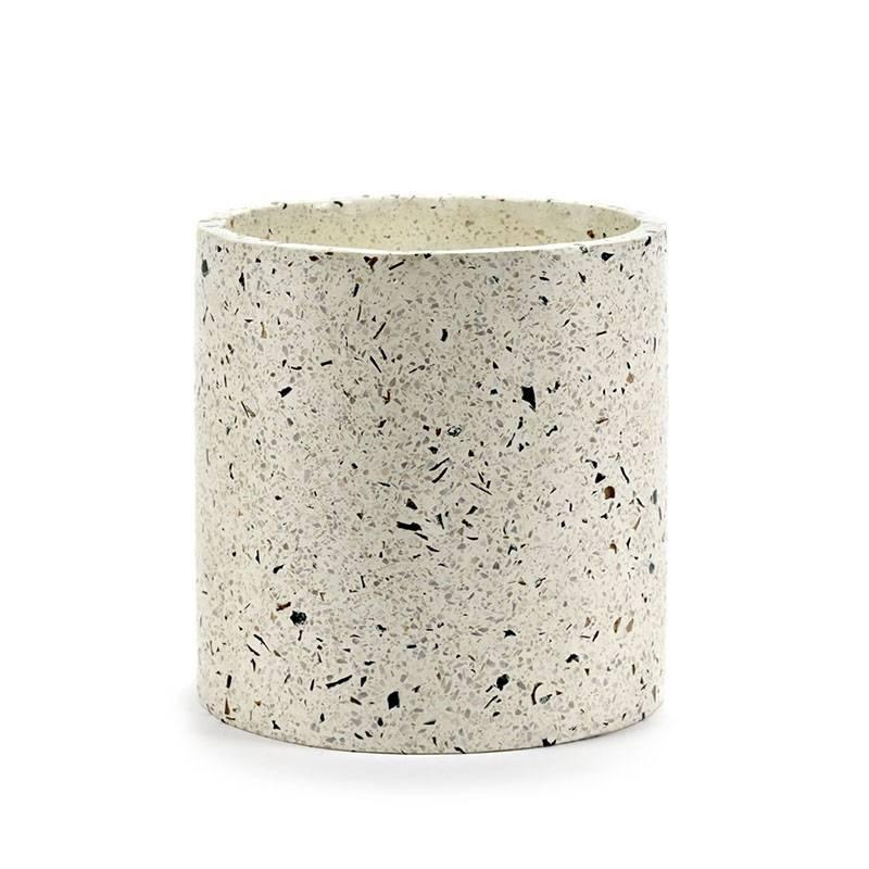 Serax Pot Terrazzo large blanc