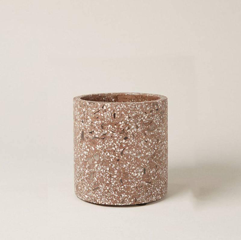 Serax Pot Terrazzo bruin S (Ø18cm )