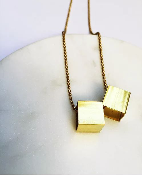 Studio Peloeze Duo Block Brass