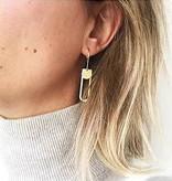 Studio Peloeze Intact Gold oorhangers