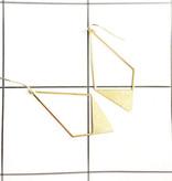 Studio Peloeze Oorhangers - Boho diamond