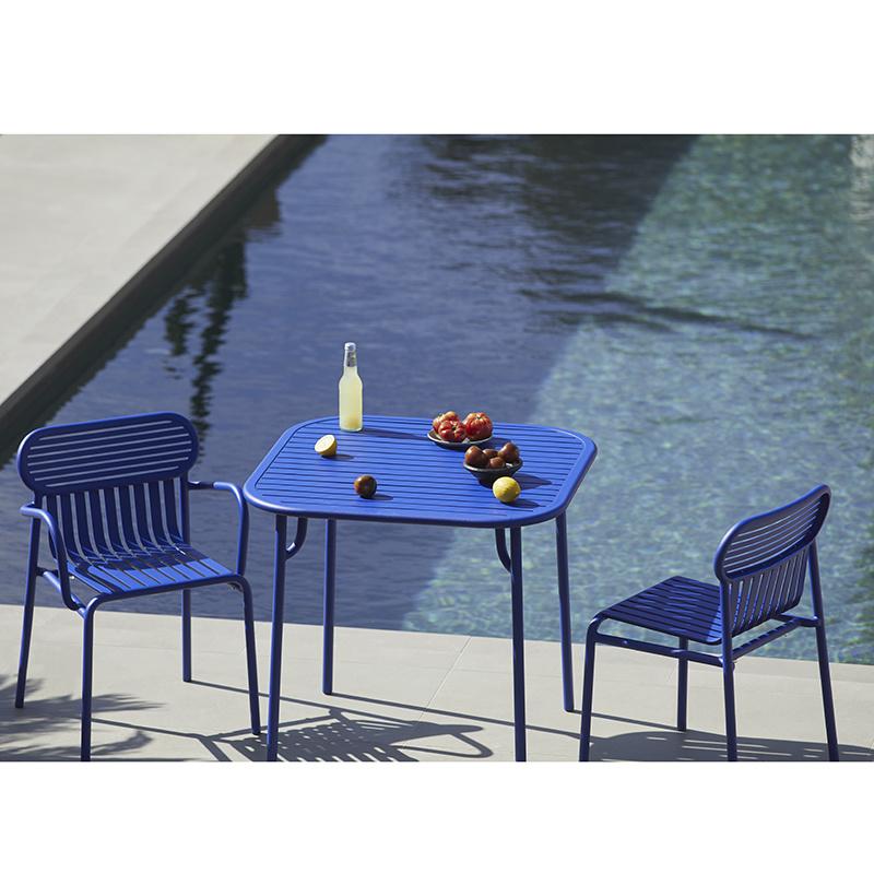 Petite Friture Week-end table de jardin carré