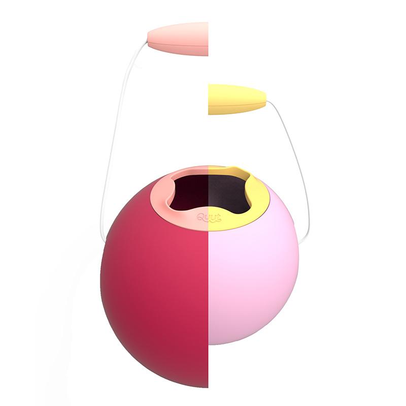 Quut Ballo Mini strandemmer sweet pink
