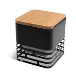 Höfats Cube Board bamboo zwart