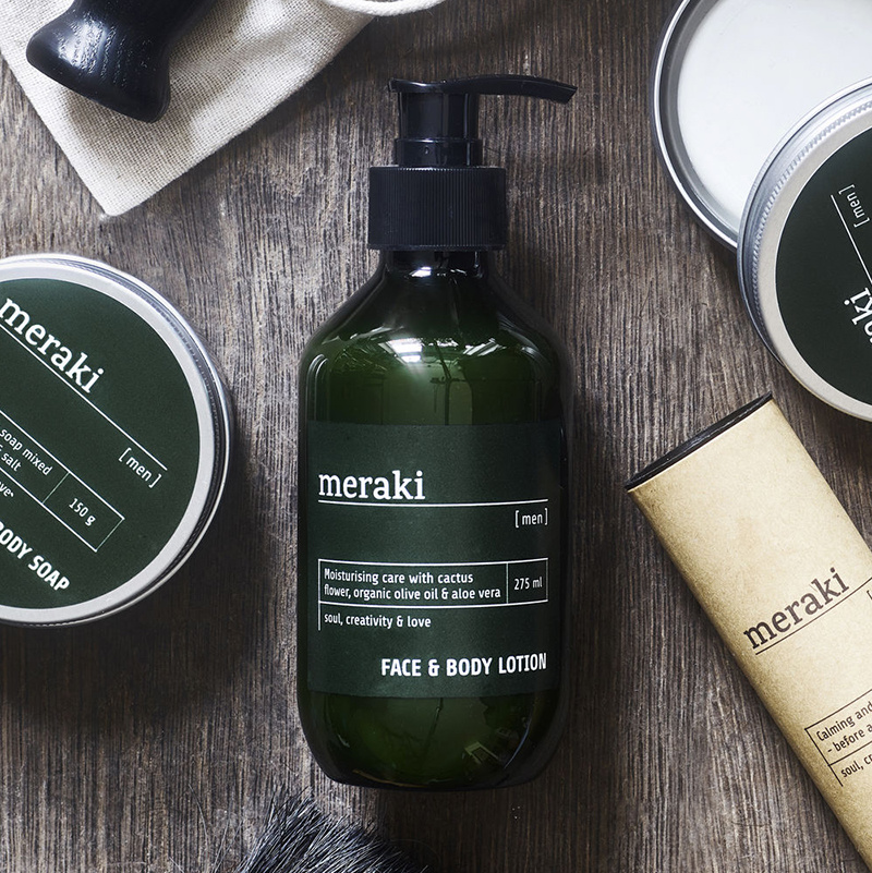 Meraki Face & body lotion Meraki Men
