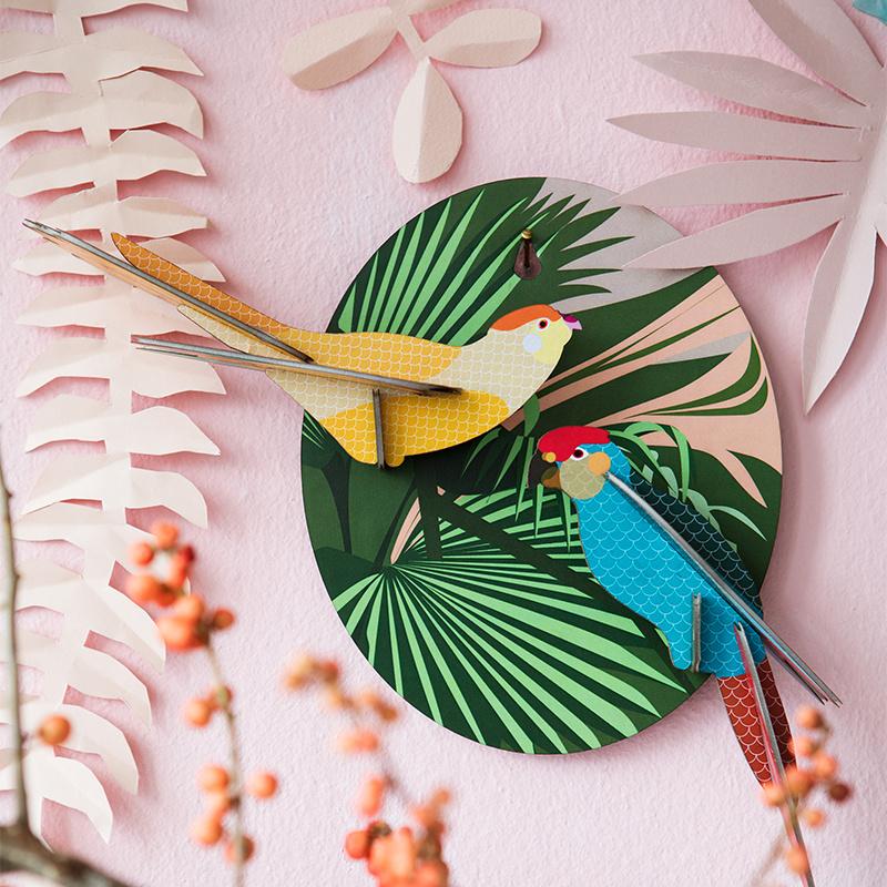 Studio Roof Joyeuses perruches 3D puzzle