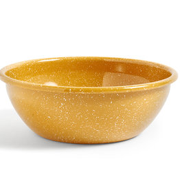 HAY Enamel saladier Dust jaune moutarde