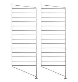 String Montant au sol double galvanisé 30 x 85 cm