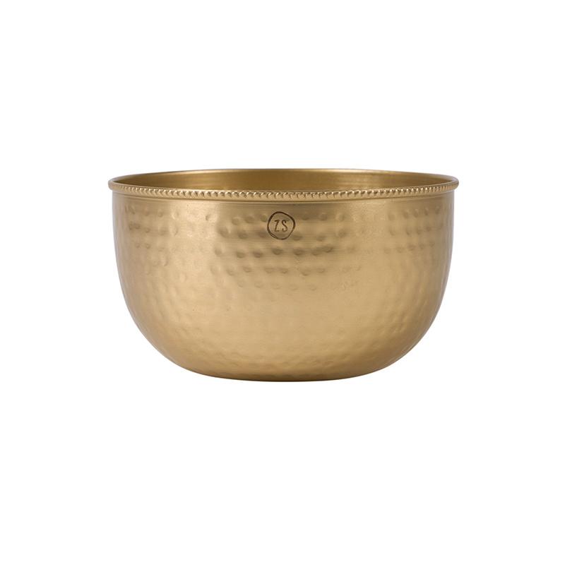 Zusss Bol en métal doré