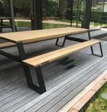 Vonk Fuse Picknicktafel (zwart)