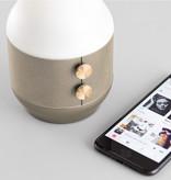 Lexon Terrace bluetooth speaker - light gold