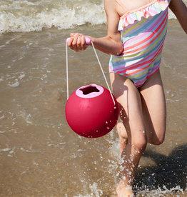 Quut Ballo - seau de plage Cherry red