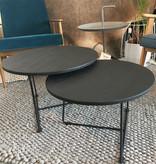 Opsmuk Table d'appoint en chêne noir