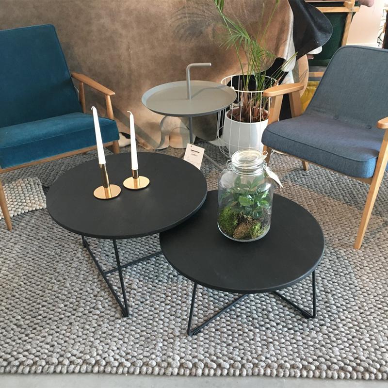 Opsmuk Table d'appoint  noir