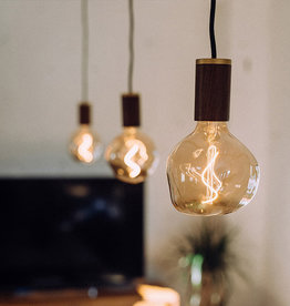 Tala LED Walnut lampe suspendue