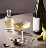 Fermliving Ripple Champagne glazen clear (set van 2)