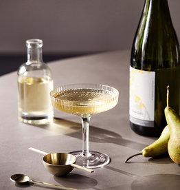 Fermliving Ripple Champagne glazen (set van 2)