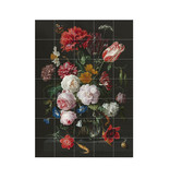 IXXI Flowers Dark & Light wanddecoratie (recto-verso)