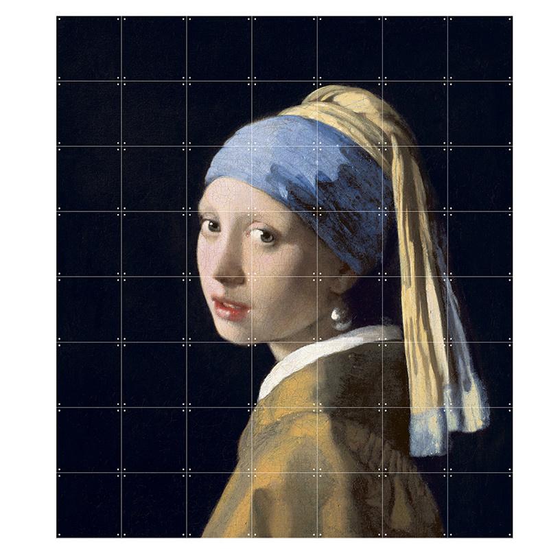 IXXI Girl with a pearl earring wanddecoratie