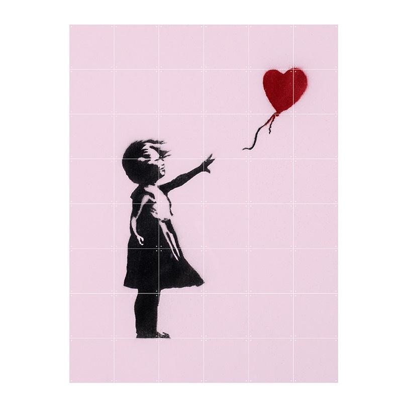 IXXI Banksy love icons  wanddecoratie (recto-verso)