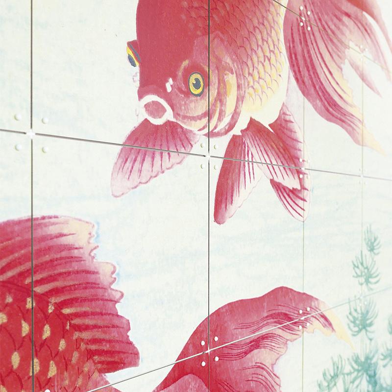 IXXI Two goldfish décoration murale