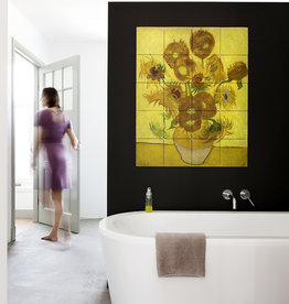 IXXI Sunflowers wanddecoratie