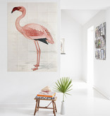 IXXI Flamingo / Finch-Davies wanddecoratie