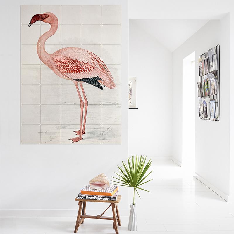IXXI Flamant rose  / Finch-Davies décoration murale