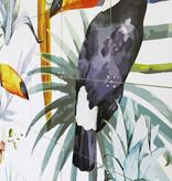 IXXI Tiger jungle & Toucan Family wanddecoratie (recto-verso)