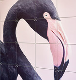 IXXI Black Flamingo wanddecoratie