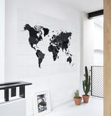IXXI The world black & white wanddecoratie