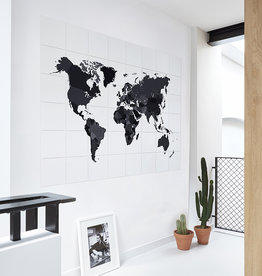 IXXI The world black & white décoration murale