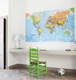 IXXI The world wanddecoratie