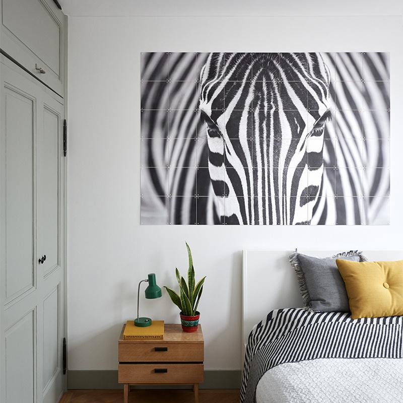 IXXI Zebra wanddecoratie