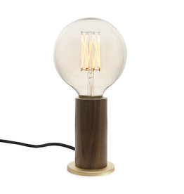 Tala LED Walnut Touch lampe de table