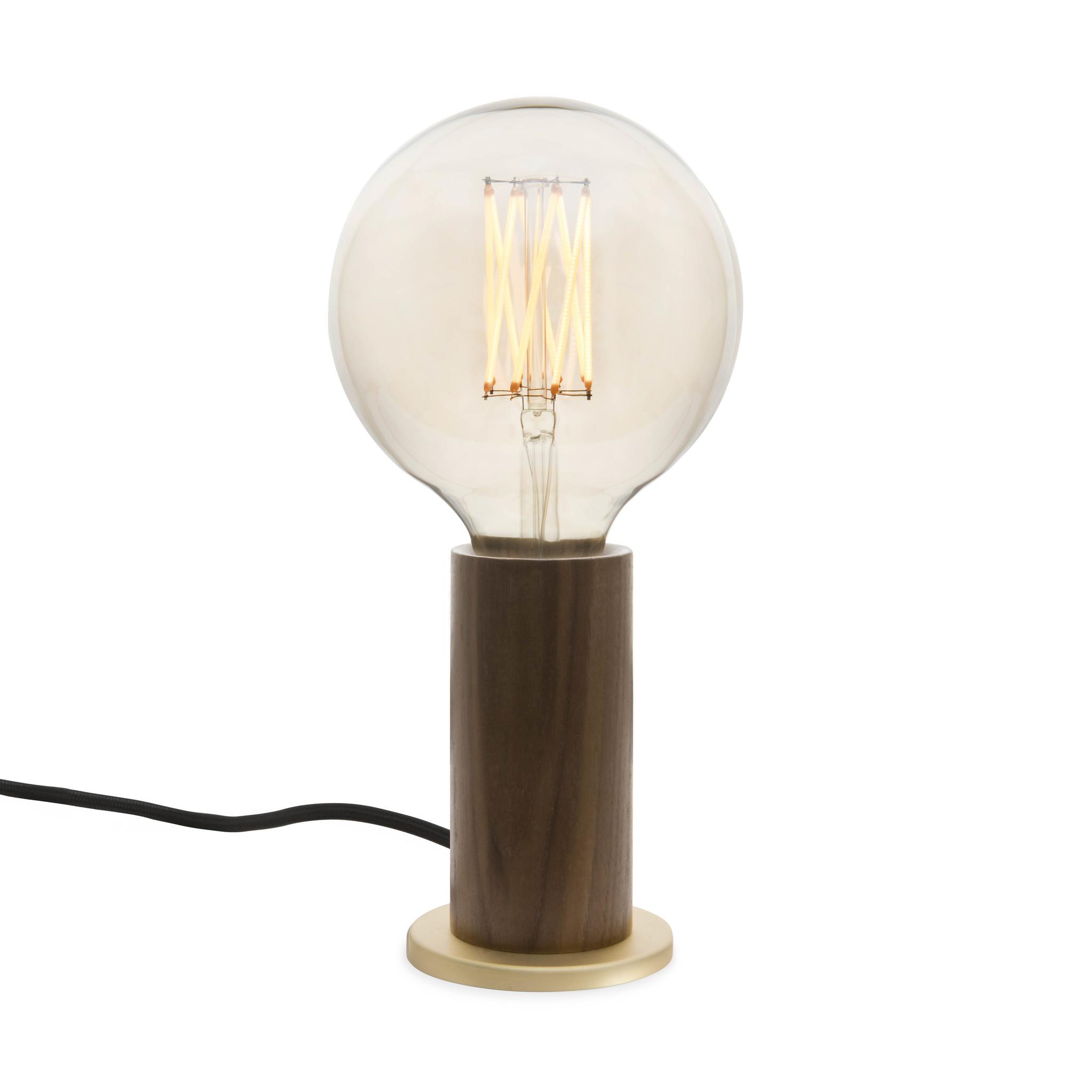 Tala LED Knuckle Tafellamp Walnut