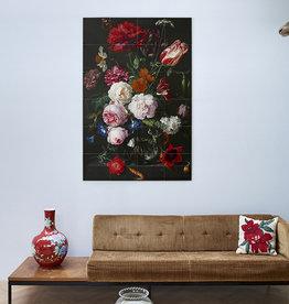 IXXI Still life with flowers wanddecoratie