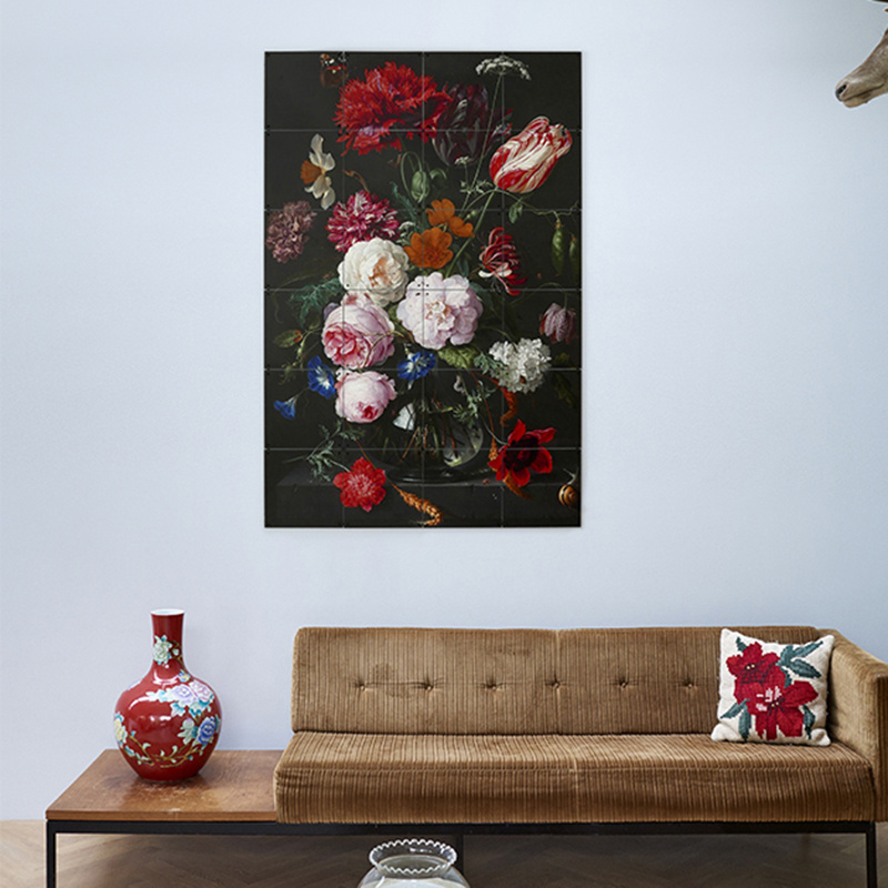 IXXI Still life with flowers wanddecoratie