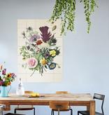 IXXI Flowers Dark & Light décoration murale  (recto-verso)