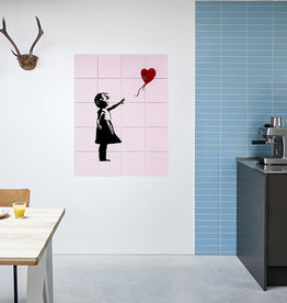 IXXI Banksy love icons décoration murale  (recto-verso)