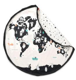 Play&Go Carte du monde sac de rangement / tapis de jeu