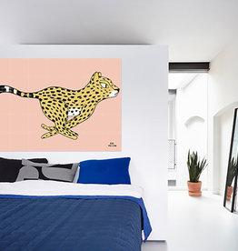 IXXI Cheetah - Eva Mouton - wanddecoratie