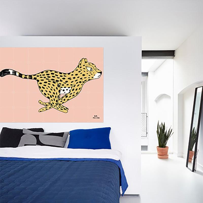 IXXI Cheetah - Eva Mouton - décoration murale